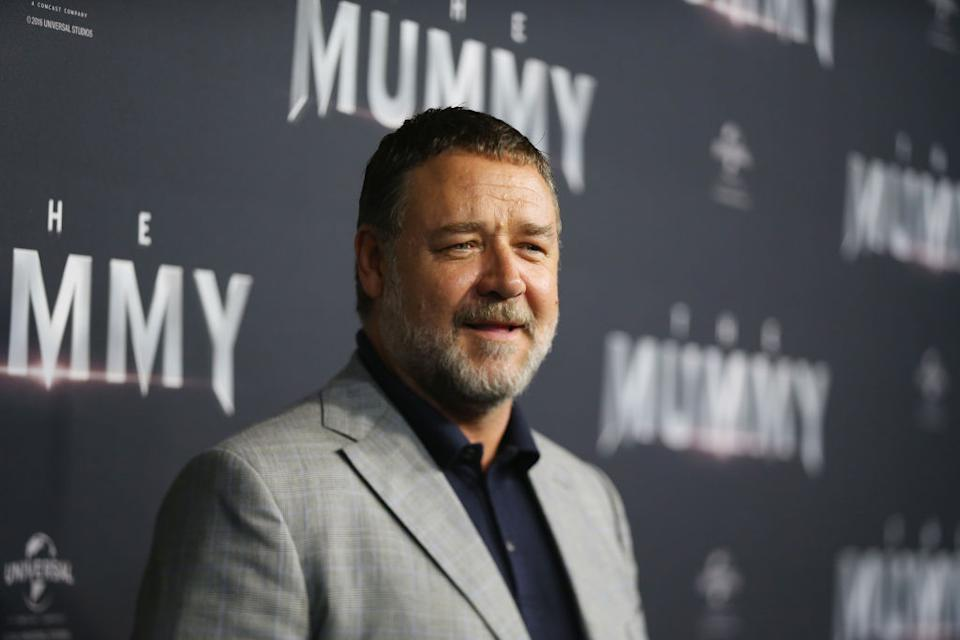 Russell Crowe missed the 2020 Golden Globes, because of the fires in Australia. (Photo: Don Arnold/WireImage)