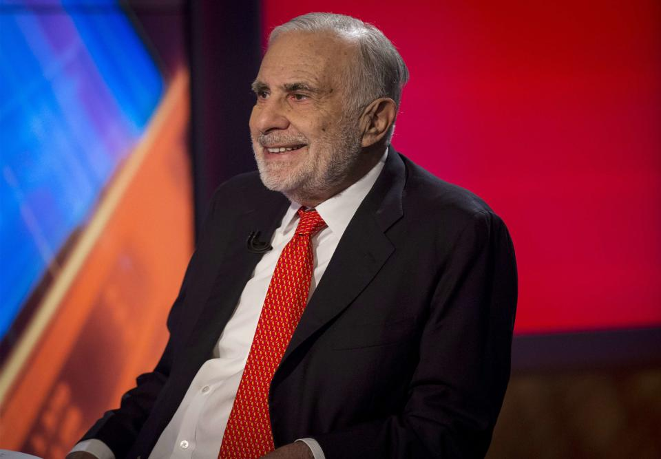 Billionaire and Trump supporter Carl Icahn placed a $1 billion bet election night, and came up big-league. Source: Reuters
