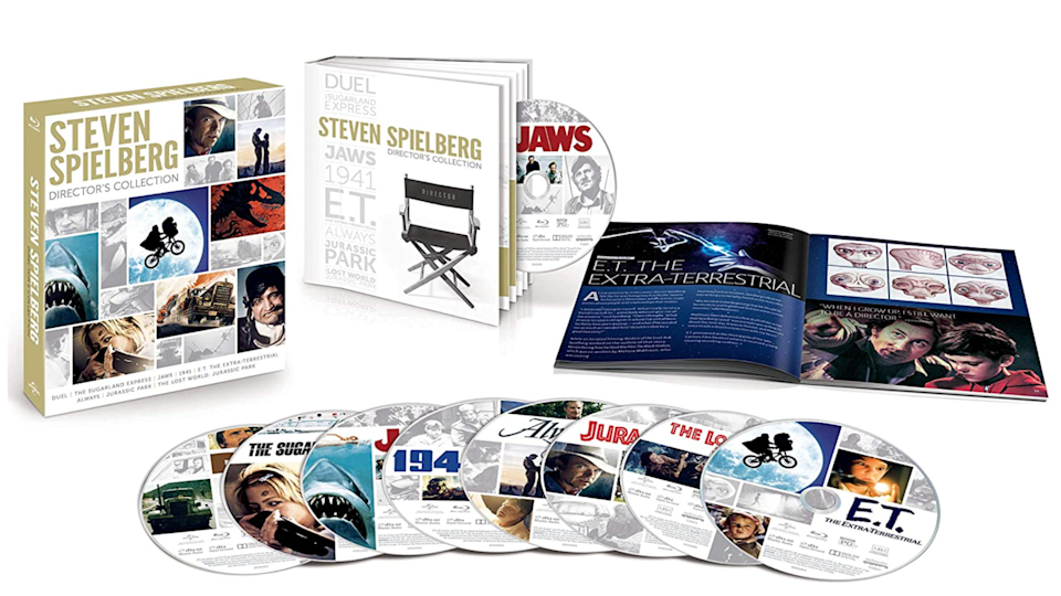 Steven Spielberg collection on blu-ray