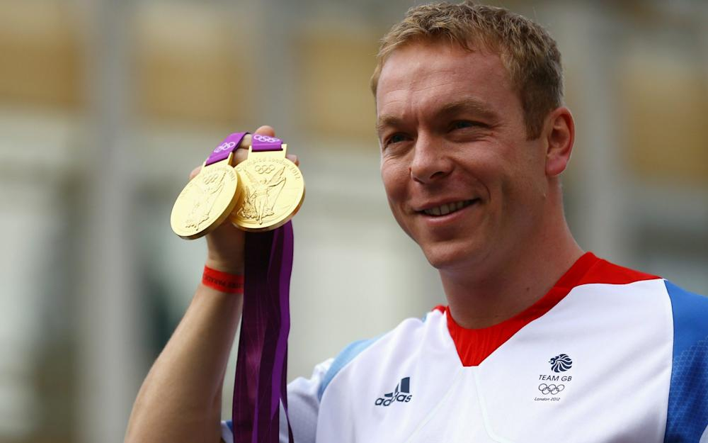 Chris Hoy - Credit: Getty Images