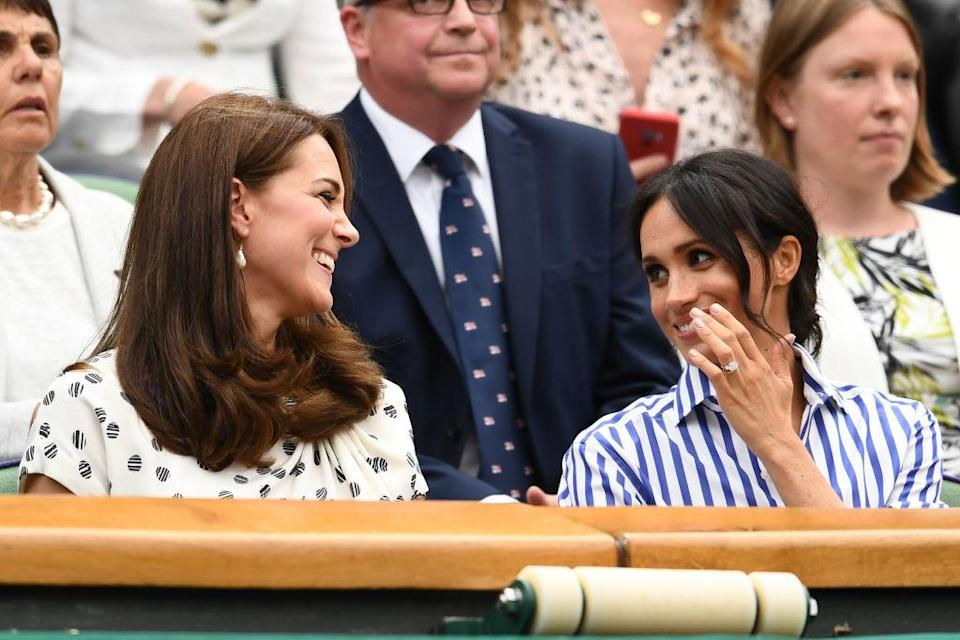 The Duchesses' outing to Wimbledon is said to be the only time any effort was made to form a friendship. Source: Getty