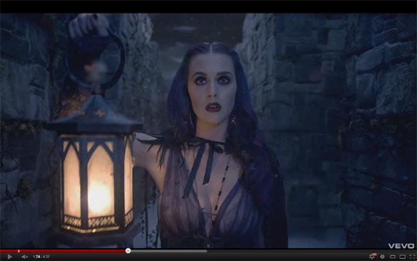 WATCH: Katy Perry Punches 'Russell Brand' In 'Wide Awake' Video