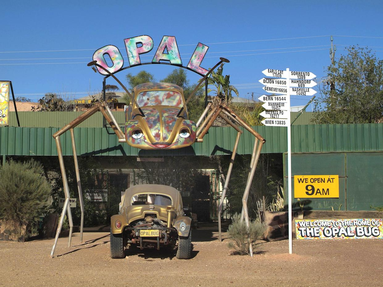 The Opal Bug in Coober Pedy.