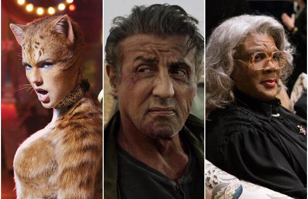 'Cats,' 'Rambo: Last Blood,' Final 'Madea' Film Top Razzie Nominations for Worst Movies of 2019