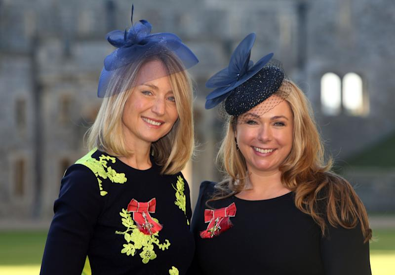 Notonthehighstreet.com founders Sophie Cornish and Holly Tucker