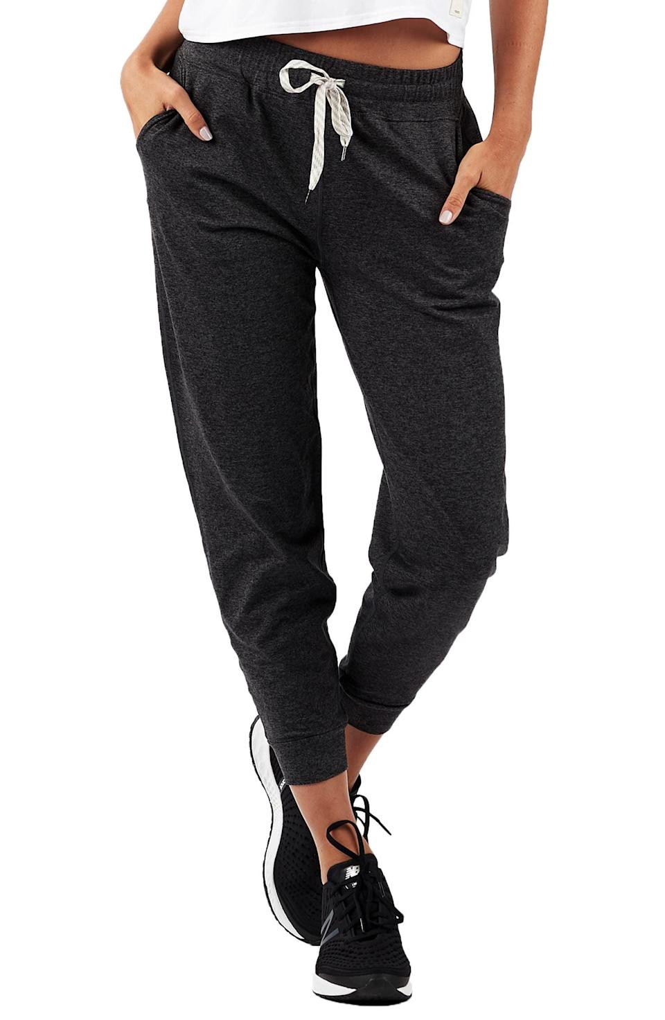 <p>They'll appreciate these soft and comfortable <span>Vuori Pocket Performance Joggers</span> ($84). It's the perfect work-from-home uniform that comes in a variety of colors.</p>