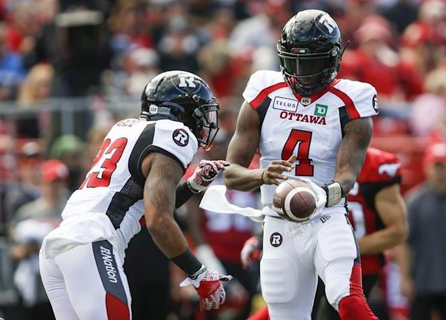 """Ottawa Redblacks quarterback Dominique Davis says he learned the a lot during his first two CFL seasons with the Winnipeg Blue Bombers. He has the opportunity to show just how much on Friday night when he starts against his former team for the first time.Davis and the Redblacks will kick off Week 4 of the season when they host the Blue Bombers in a battle of undefeated teams. The Blue Bombers are looking to start the season 3-0 for the first time since 2014, while the Redblacks have never accomplished the feat since joining the league back in 2014.""""It's going to be fun,"""" Davis said. """"I know most of the guys on offence, some of the guys on defence, but this is my first time being a starter playing against my old team. It's family outside the lines, but inside the lines things are different.""""Davis is in his first year as the Redblacks' starter after spending last season as a backup for Trevor Harris, who left for Edmonton as a free agent. While he's making the most of his opportunity in Ottawa, he's thankful to the Bombers for giving him his start.""""That whole organization taught me everything I know now,"""" Davis said. """"Ottawa's been doing a great job of keeping me sharp on that stuff, but I wouldn't be here today if it wasn't for (Winnipeg offensive co-ordinator Paul) LaPolice, (quarterback coach) Buck Pierce and (head coach Mike) O'Shea.""""The Redblacks offence will have a tough challenge, as Winnipeg has allowed just one offensive touchdown in two games this season. And Ottawa is coming off a bye week, which hasn't always worked well in its favour. The Redblacks have a 4-7 record after a week off.With that in mind, Ottawa head coach Rick Campbell chose to mix things up a little bit.""""I made an emphasis this week to come back a few days early and had some practices to just get switched back to football, we didn't even talk about Winnipeg,"""" said Campbell. """"It was just about us getting back in the groove of football and then transition on into more of a normal week for the"""