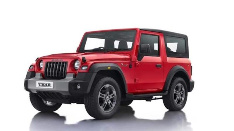 2020 Mahindra Thar launched in India at Rs. 10 lakh