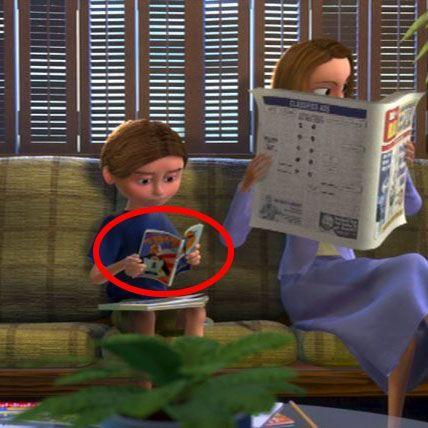 <p>Or, if you don't want to play with toys while you wait for Dr. Sherman, you can always read a comic about Mr. Incredible.</p>