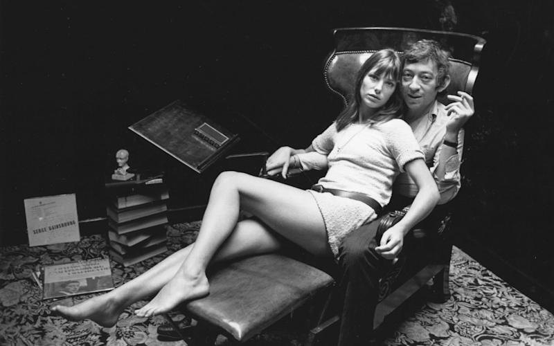 Jane Birkin and Serge Gainsbourg - Reg Lancaster/Getty Images
