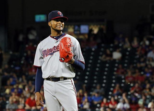 Ervin Santana has the Twins in good shape entering May. (AP)