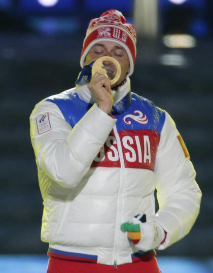 Alexander Legkov is among those implicated in the alleged doping scandal. (AP)