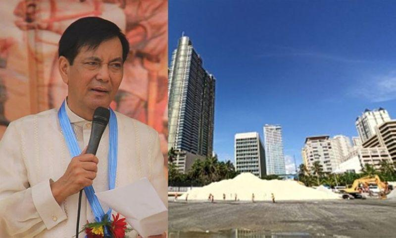 Bzzzzz: Cebuanos 'robbed' of filling material for Manila Bay, says PB member. VM Rama's stint as acting mayor shorter than in 2019.
