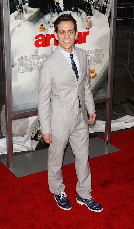 "<a href=""http://movies.yahoo.com/movie/contributor/1807474842"">Jason Winer</a> attends the New York City premiere of <a href=""http://movies.yahoo.com/movie/1810167411/info"">Arthur</a> on April 5, 2011."