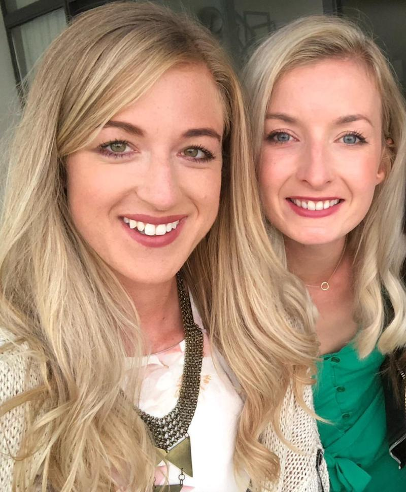 Catriona Walker and Holly Watts
