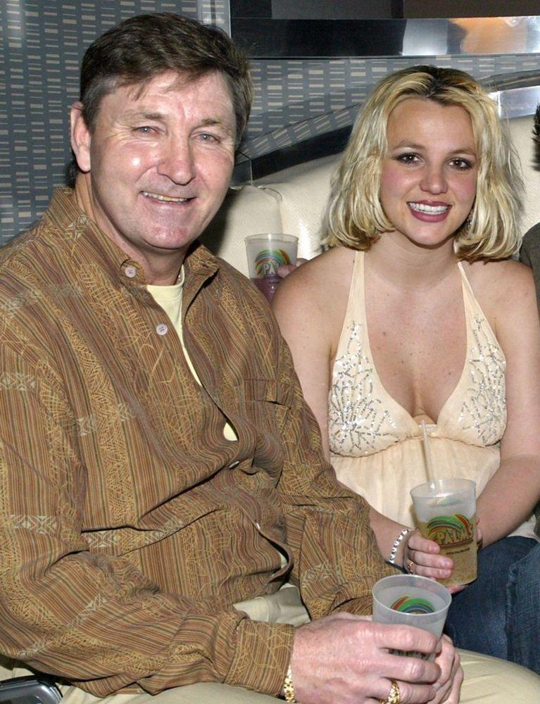 Britney Spears and her dad Jamie Spears | Chris Farina/Corbis/Getty