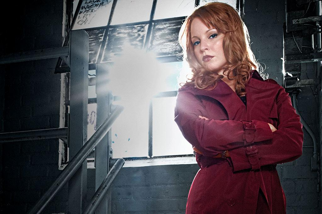"Lauren Ambrose stars as Jilly Kitzinger in ""Torchwood: Miracle Day."""