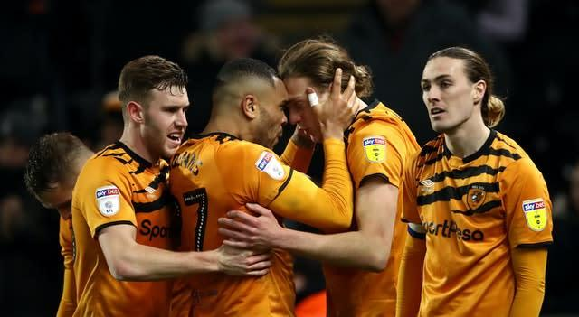 Hull are struggling at the bottom end of the Championship (Tim Goode/PA)