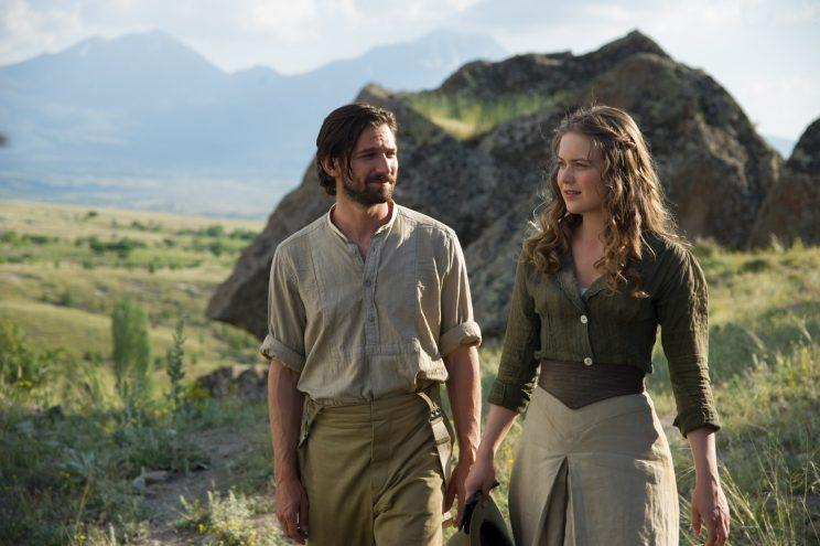 Michiel Huisman and Hera Hilmar (Photo: Property of Y-Stone Production, LLC )