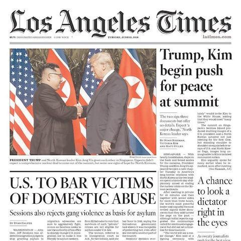 <span>The Los Angeles Times</span>
