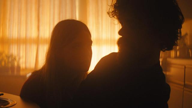 Elle Fanning and Peter Dinklage appear in <i>I Think We're Alone Now</i>, directed by Reed Morano. (Photo courtesy of Sundance Institute)