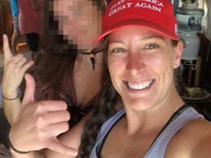 <p>Ashli Babbitt was identified as the woman shot and killed during the storming of the US Capitol</p> (Twitter)
