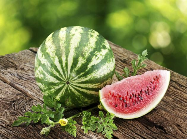 <b>Hangover food 2: Watermelon</b><br><br>Not only does alcohol deplete your body of nutrients, it can also lead to low blood sugar levels, which may leave you feeling weak and shaky. To counteract this, try snacking on watermelon, which is not only high in fructose but is also water-rich to boost hydration. On top of this, watermelon is high in many essential nutrients, including vitamin C, B-vitamins and magnesium