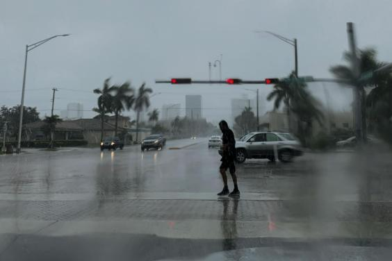 Residents in parts of three US states – including Florida – are under evacuation orders (Getty)