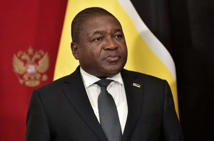 FILE PHOTO: Mozambique's President Nyusi attends a signing ceremony in Moscow