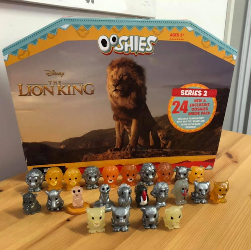 Pictures is a set of Woolworths' Series 2 Lion King Ooshies collectables range.
