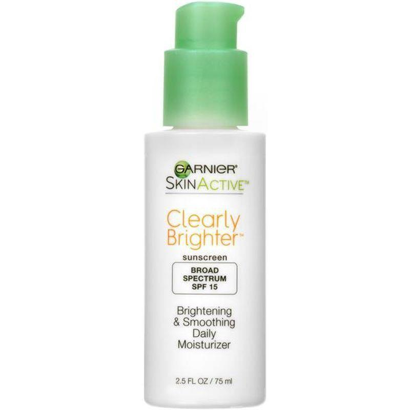 """<p><strong>Garnier</strong></p><p>instacart.com</p><p><strong>$14.99</strong></p><p><a href=""""https://go.redirectingat.com?id=74968X1596630&url=https%3A%2F%2Fwww.instacart.com%2Flanding%3Fproduct_id%3D3104550%26retailer_id%3D457%26region_id%3D6805930109%26mrid%3D580753073&sref=https%3A%2F%2Fwww.goodhousekeeping.com%2Fbeauty%2Fanti-aging%2Fg32906564%2Fbest-drugstore-moisturizers%2F"""" rel=""""nofollow noopener"""" target=""""_blank"""" data-ylk=""""slk:Shop Now"""" class=""""link rapid-noclick-resp"""">Shop Now</a></p><p>With antioxidant <a href=""""https://www.goodhousekeeping.com/beauty/anti-aging/g26840895/best-vitamin-c-serums/"""" rel=""""nofollow noopener"""" target=""""_blank"""" data-ylk=""""slk:vitamin C"""" class=""""link rapid-noclick-resp"""">vitamin C</a> and gently exfoliating lipohydroxy acid, this bargain GH Seal star and <a href=""""https://www.goodhousekeeping.com/beauty/g19606205/beauty-awards-2018/"""" rel=""""nofollow noopener"""" target=""""_blank"""" data-ylk=""""slk:Beauty Award"""" class=""""link rapid-noclick-resp"""">Beauty Award</a>-winning Garnier day lotion boosts skin's radiance and evens tone as it hydrates. A test of 34 women confirmed that over 22 days of use<strong>,</strong> the lotion increased cell turnover, revealing brighter skin, and <strong>91% of testers' skin appear healthier </strong>after eight weeks, according to Lab evaluations.</p>"""