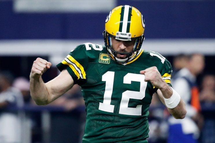 Aaron Rodgers Delivered A Knockout Blow To The Cowboys On Sunday With One Of His Greatest