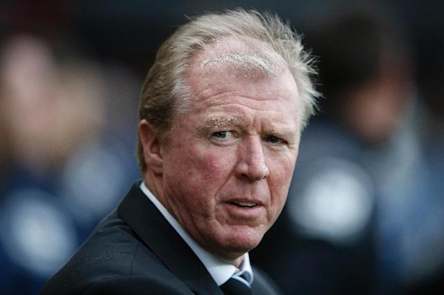 Steve McClaren was dismissed by English second-tier club Derby County in March, after going back to a job he first lost in May 2015 (AFP Photo/Adrian DENNIS)
