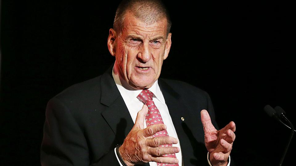 Jeff Kennett has labelled the AFL's decision not to grant Hawthorn an AFLW license yet 'a disgrace'. (Photo by Michael Dodge/Getty Images)