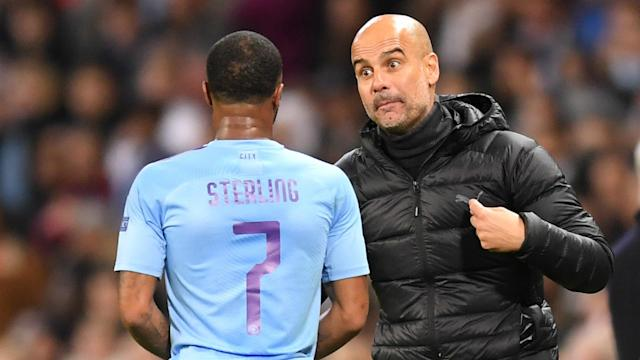 Raheem Sterling's hamstring injury could mean he misses Manchester City's Champions League trip to Spain to face Real Madrid.