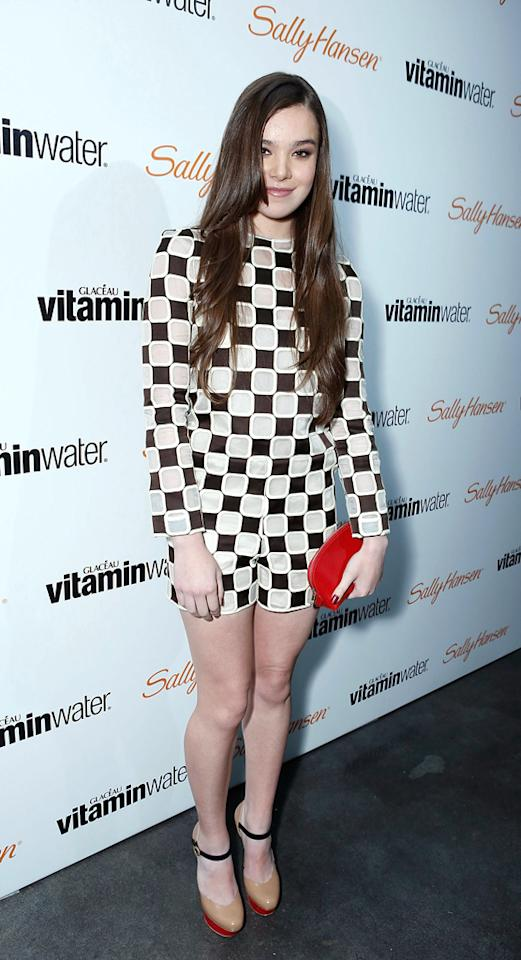 LOS ANGELES, CA - DECEMBER 15:  Hailee Steinfeld at her Sweet 16 With vitaminwater and Sally Hansen held at Rolling Stone Restaurant And Lounge on December 15, 2012 in Los Angeles, California.  (Photo by Alexandra Wyman/Getty Images for vitaminwater)