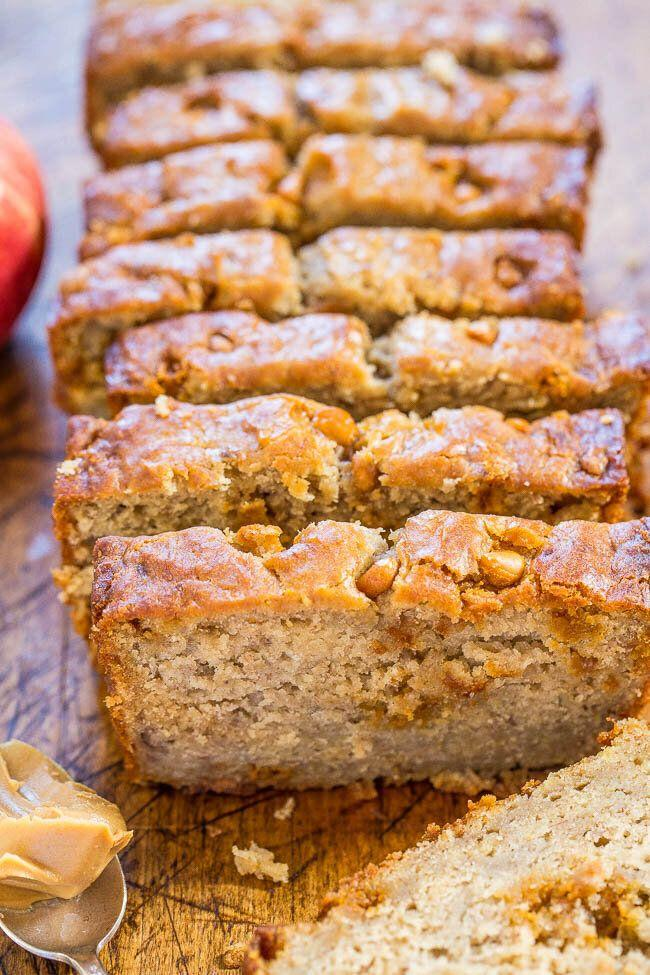 "<a href=""https://ohsweetbasil.com/peanut-butter-banana-bread/"" target=""_blank"" rel=""noopener noreferrer""></a><a href=""https://www.averiecooks.com/peanut-butter-apple-banana-bread/"" target=""_blank"" rel=""noopener noreferrer""><strong>Get the Peanut Butter Apple Banana Bread recipe from Averie Cooks</strong></a>"