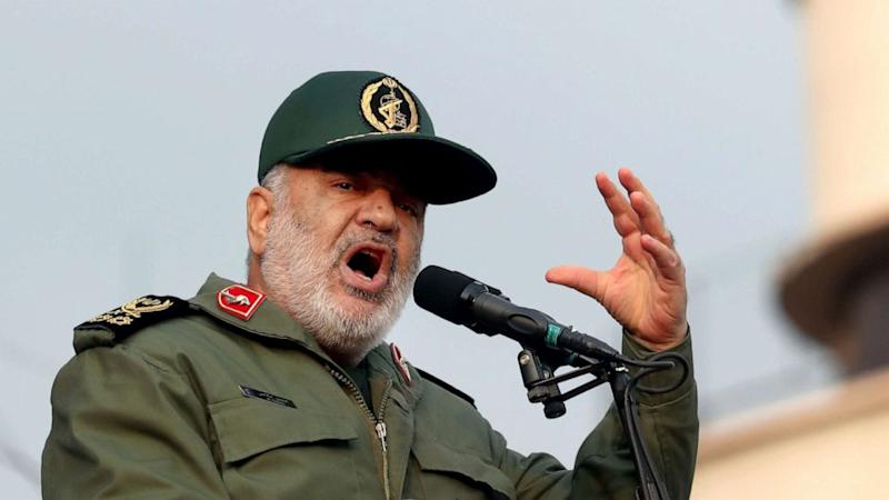 Iran's Revolutionary Guard commander vows 'hit' on all involved in US killing of top general Qassem Soleimani