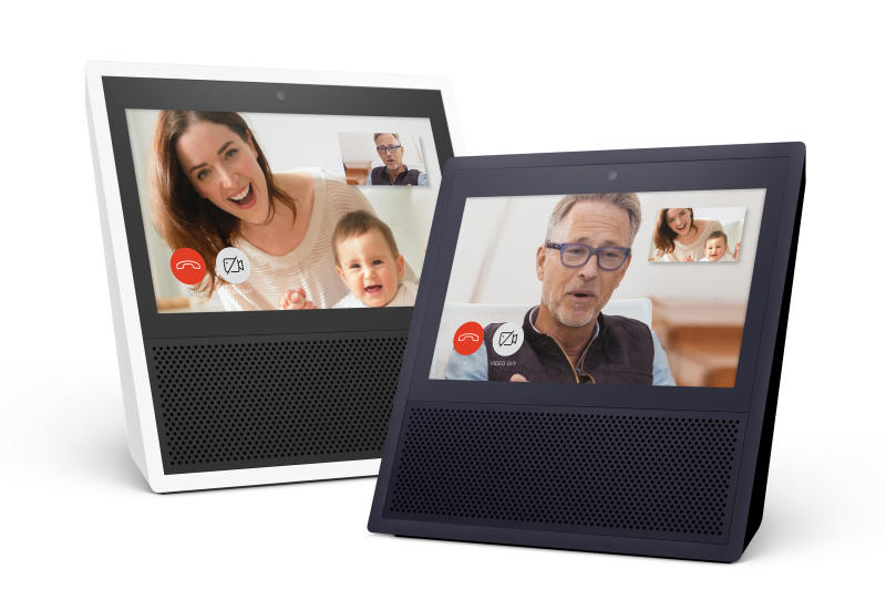 Amazon Adds Touchscreen And Video Calling To Echo