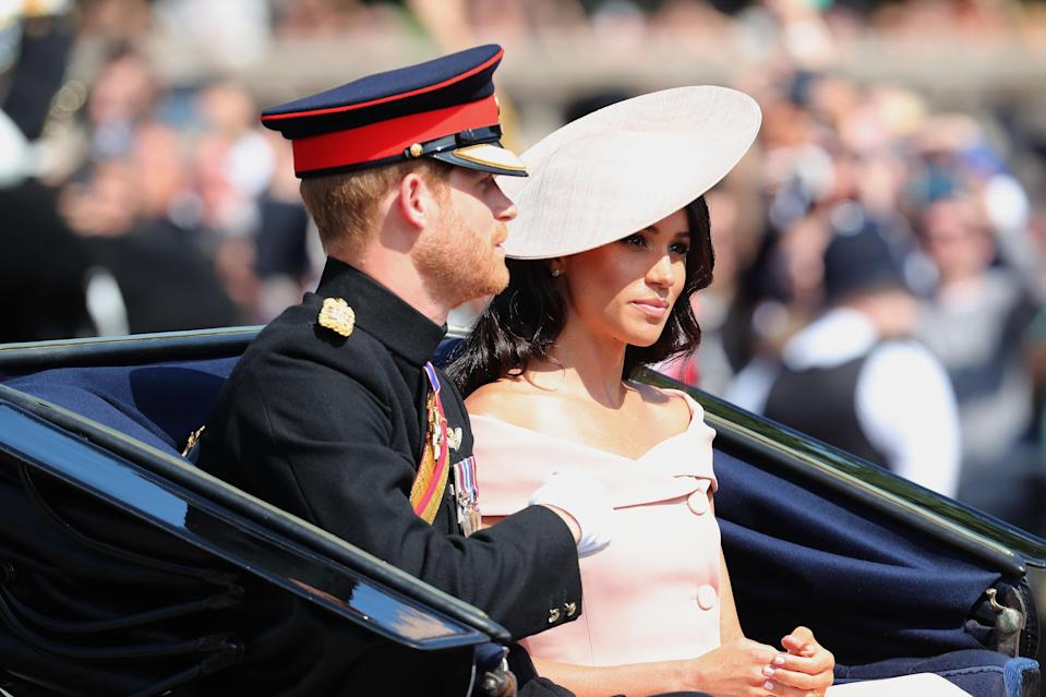 Meghan Markle with new husband Prince Harry, who she'll likely learn a lot from. [Photo: Getty]