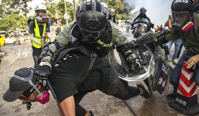 Hong Kong has been in the grip of anti-government protests for months. Photo: Winson Wong