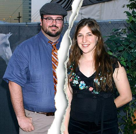 Mayim Bialik Officially Files for Divorce From Husband Michael Stone
