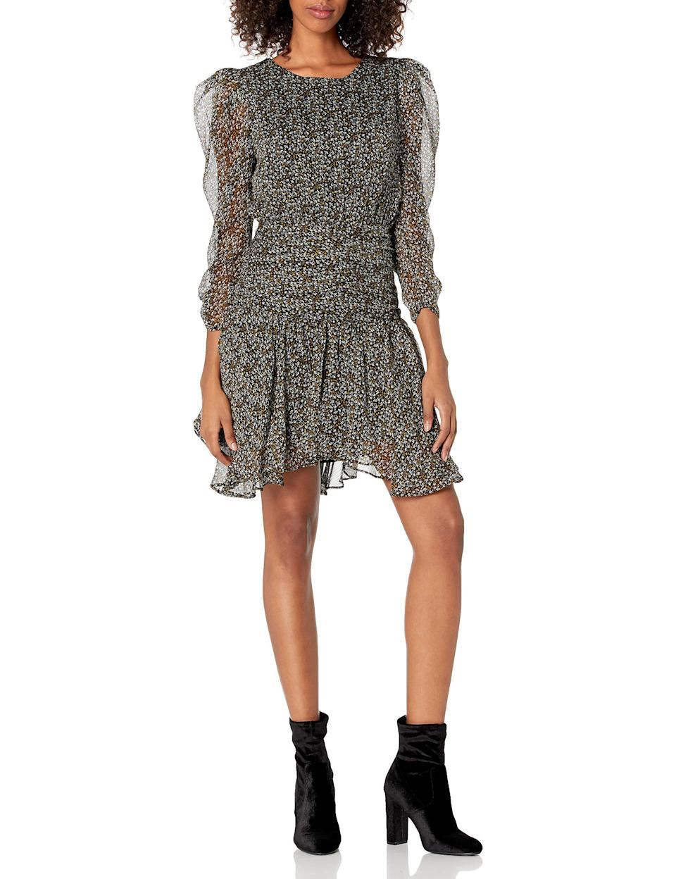 """<br><br><strong>ASTR The Label</strong> Savannah Mock Neck Long Sleeve Mini Dress, $, available at <a href=""""https://amzn.to/2SJNWIt"""" rel=""""nofollow noopener"""" target=""""_blank"""" data-ylk=""""slk:Amazon"""" class=""""link rapid-noclick-resp"""">Amazon</a>"""