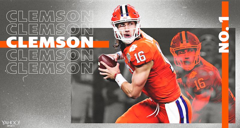 What can Trevor Lawrence do in year 2 at Clemson? (Amber Matsumoto/Yahoo Sports)