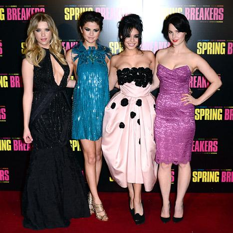 Spring Breakers Premiere Dresses: Which Look Is the Best?