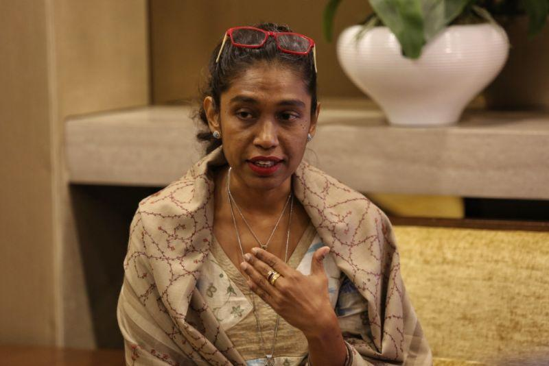 WAO's Sumitra Visvanathan said women's and children's rights are non-negotiable and must not become subservient to political expediency. ― Picture by Saw Siow Feng