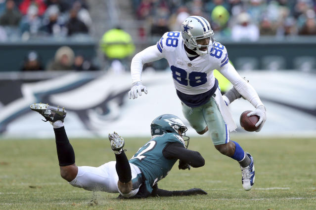 Wide receiver Dez Bryant had 838 yards for the Cowboys last season. (AP)