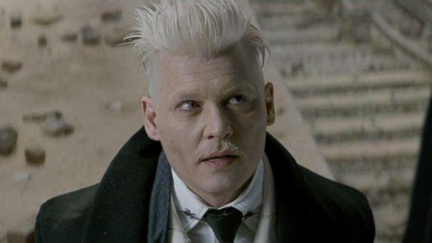 PHOTO: Johnny Depp, as Gellert Grindewald, in a scene from 'Fantastic Beasts and Where to Find Them.' (Warner Bros. Pictures)