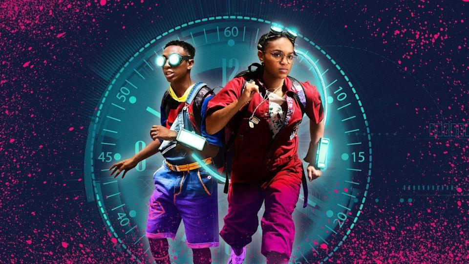 "<p>It's a teen movie ... with a little bit of time travel. Two high school prodigies crack the ability to travel through time, though one of them uses it to try and change a traumatic event in her past, with consequences for the present.</p><p><a class=""link rapid-noclick-resp"" href=""https://www.netflix.com/watch/80216758"" rel=""nofollow noopener"" target=""_blank"" data-ylk=""slk:WATCH NOW"">WATCH NOW</a></p><p><strong>RELATED:</strong> <a href=""https://www.goodhousekeeping.com/life/entertainment/g33484132/best-time-travel-movies/"" rel=""nofollow noopener"" target=""_blank"" data-ylk=""slk:The 15 Most Creative, Mind-Bending Time Travel Movies Ever Made"" class=""link rapid-noclick-resp"">The 15 Most Creative, Mind-Bending Time Travel Movies Ever Made</a></p>"