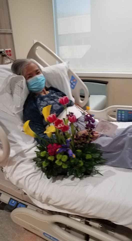 Duc Le recovering from cancer surgery in Northern Virginia spring 2021.